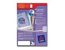 Avery - Double pochette intercalaire 8 positions - A4 Maxi - polypropylène