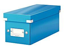 Leitz Click & Store - Boîte de rangement pour CD - bleu métallisé