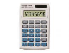 Calculatrice de poche Ibico 081X - 8 chiffres - alimentation batterie et solaire