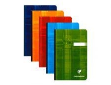 Clairefontaine - Carnet broché 11 x 17 cm - 192 pages - petits carreaux (5x5 mm) - disponible dans différentes couleurs