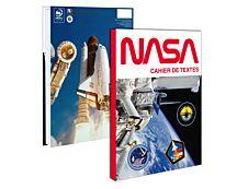 Cahier de textes Nasa - 15 x 21 cm - différents modèles disponibles - Bagtrotter