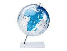 Sign Deco - Globe non lumineux 30 cm - bleu