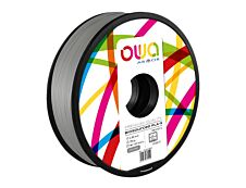 OWA - filament 3D PLA-S - gris - Ø 2,85 mm - 750g
