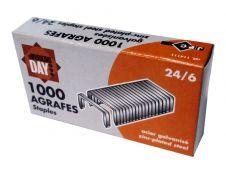 Wonday - Boîte de 1000 Agrafes 24/6 - jusqu'à 20 feuilles