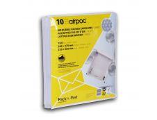GPV Pack'n Post - 10 Pochettes bulles - 210 x 265 mm - bande de protection