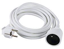 Ednet ASL9 - Rallonge électrique avec prise terre - 5m