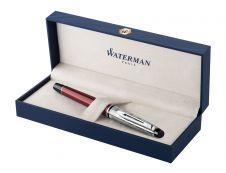 Waterman Expert Deluxe - Stylo plume rouge - pointe fine