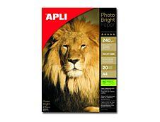Apli Paper - Papier photo brillant - A4 - 240 g/m² - 20 feuilles