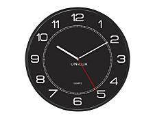 Unilux - Horloge Mega - mécanisme quartz - 57,5 cm - noir