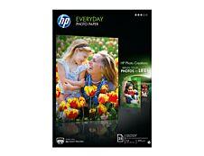 HP - Papier photo semi-glacé - A4 - 200 g/m² - 25 feuilles