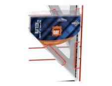 Wonday - Équerre aluminium 25 cm - 45°