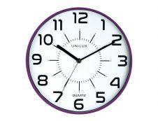 Unilux - Horloge Pop - mécanisme quartz - 28 cm - prune