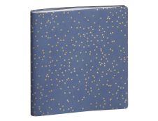 Agenda Méline septembre à décembre - 1 semaine sur 2 pages - 15 x 17 cm - disponible dans différentes couleurs - Exacompta