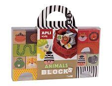 Apli Kids - Blocs de construction - thème animaux