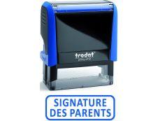 """Trodat - Tampon prêt à l'emploi """"Signature des parents"""""""