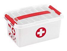 Sunware Q- line - Boîte de rangement pharmacie 6L