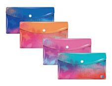 Oxford Sunrise - Chemise à bouton pression - format DL/enveloppe - disponible dans différentes couleurs