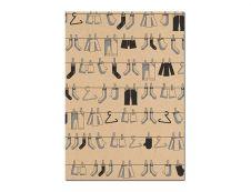 Clairefontaine - Papier cadeau kraft - 70 cm x 2 m - 70 g/m² - motif pictos