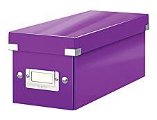 Leitz Click & Store - Boîte de rangement pour CD - violet métallisé