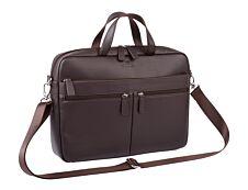 "Oberthur Bradford - Sacoche pour ordinateur portable 15,6"" - marron"