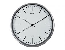 MaulFly - Horloge - mécanisme radio pilotée - 30 cm - blanc