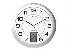 Unilux - Horloge intelligente Instinct - 30,5 cm - gris métal