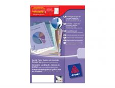Avery - Double pochette intercalaire 6 positions - A4 Maxi - polypropylène