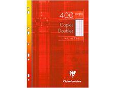 Clairefontaine - 400 copies doubles A4 - grands carreaux (Seyes) - perforées