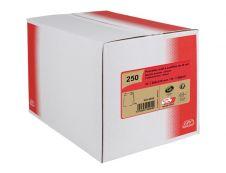 GPV Pack'n Post - 250 Pochettes kraft à soufflets 260 x 330 mm - 120 gr - bande adhésive