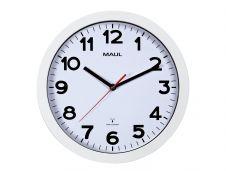 MaulStep - Horloge - mécanisme radio pilotée - 30 cm - blanc