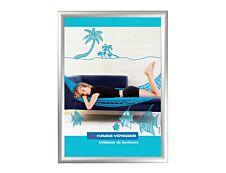 Promocome Clipframe - Cadre d'affichage clippant - coins carrés - 40 x 60 cm