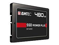 EMTEC X150 Power Plus 3D NAND - Disque SSD - 480 Go - SATA 6Gb/s
