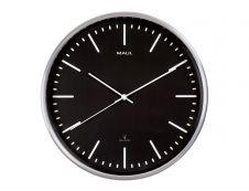MaulFly - Horloge - mécanisme radio pilotée - 30 cm - noir