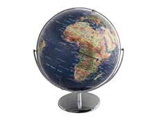 Carpentras Sign - Globe non lumineux - 30 cm - bleu