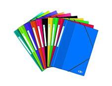 Oxford School Life - Chemise polypro à rabats - A4 - disponible dans différentes couleurs translucides