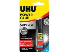 UHU - Tube gel Power Glue - 3 gr