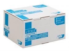 GPV - 500 Pochettes Enveloppes C5 162 x 229 mm - 90 gr - sans fenêtre - kraft - bande adhésive