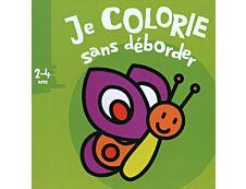 Je colorie sans déborder (2-4 ans) - Papillon