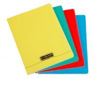 Calligraphe 8000 - Cahier polypro 24 x 32 cm - 96 pages - petits carreaux (5x5 mm) - disponible dans différentes couleurs