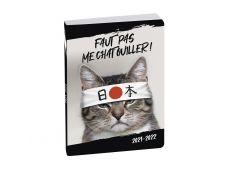 Agenda Funny Pets - 1 jour par page - 12 x 17 cm - disponible dans différentes couleurs - Exacompta