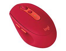 Logitech M590 - souris sans fil - silencieuse - Rouge