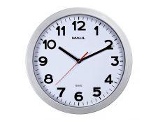 MaulStep - Horloge - mécanisme quartz - 30 cm - argent