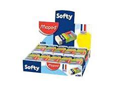 MAPED - Pack de 20 gommes fourreau - Softy