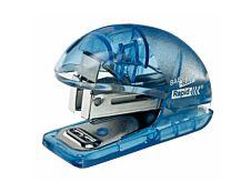 Rapid - Mini Agrafeuse Baby-Ray bleu - capacité de 10 feuilles - agrafes 24/6 ou 26/6