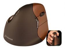 Bakker Elkhuizen Evoluent 4 - souris sans fil ergonomique pour droitier - petite taille