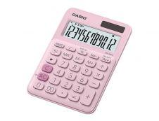 Calculatrice de bureau Casio MS-20UC - 12 chiffres - alimentation batterie et solaire - rose