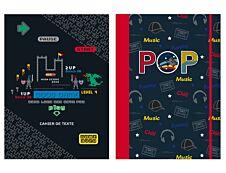 Cahier de texte KIP - 15 x 21 cm - 2 décors au choix : Pop ou Gaming - Kid'Abord
