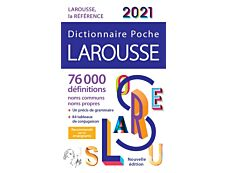 Larousse Dictionnaire de poche 2021