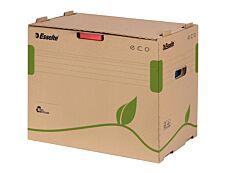 Esselte Eco - Conteneur pour 5 classeurs à levier - marron 100% recyclé