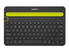 Logitech Multi-Device K480 - clavier sans fil Azerty - jusqu'à 3 appareils connectés - bluetooth - noir